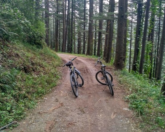 shimla cycling trails